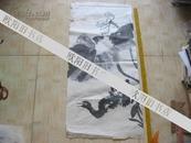 名家画 常永明炼习作品 【 鸟】长96厘米 宽45厘米