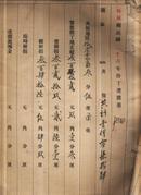 柘城县民国二十六年份丁漕征册【90多页】【珍贵资料】