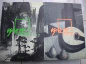 阳太阳绘画全集(油画·水彩 中国画·书法两册【作者签名本】。(货号T7)
