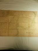 1937年出版《大上海新地图》彩色版!95×65cm!