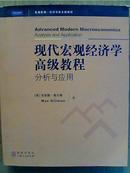 现代宏观经济学高级教程分析与应用