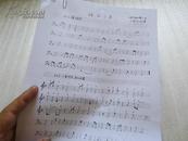 梅花三弄  《神奇秘谱》本  丁承运打谱  6页 古琴油印书