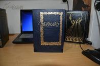 BlueBeard《蓝胡子》扉页有 库尔特·冯内古特亲笔签名,相当珍贵。富兰克林出版社初版,真皮精装,三面刷金,英文原版书籍 现货包邮