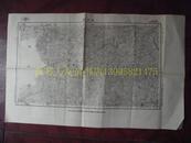 民国地图79【1939年】湖北省来凤县湖南省龙山县保靖县地形图