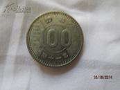 昭和41年100円稻穗银币一枚,图案精美,品相好!含银60%,单枚净重4.7克!保真拍卖!此钱币只发行了2年!如售假无条件退货!