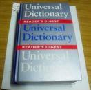 进口原装词典 Reader\\\\\\\s Digest Universal Dictionary (Readers Digest) [Hardcover]