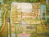 北京颐和园万寿山鸟瞰(1963.5版)(7号箱)