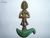 老铜臧佛 小藏佛 挂件佛教用品神像佛像藏传密宗古董古玩杂项收藏