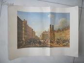 民国时期套色铜版丝网画8见图