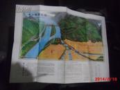 都江堰游览图--青城山游览图(手绘版)