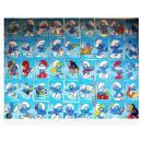 【全新】《动画片·蓝精灵》扑克,全套54张大全,厚纸全彩色,正版,带塑料盒一个+彩色外套一个