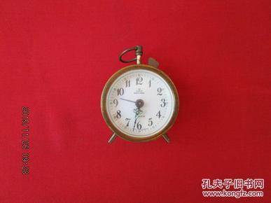 进口  老机械闹钟直径6cm