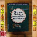 英文原版 包挂刷 Merriam websters Intermediate Dictionary  韦氏中级字典  2008年  1005页