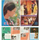 电影世界82年6期.封面:董智芝、彩页:龚雪、刘文治、