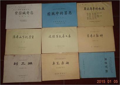 紫禁城奇恋(彩色遮幅故事片  电影完成台本)