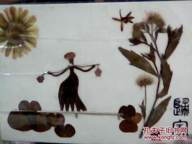 植物粘贴画---归家
