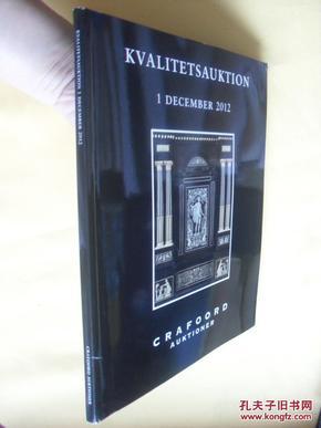 德文原版     油画、家具、陶瓷艺术品拍卖图册 Kvalitetsauktion 1 December 2012