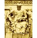 罕见1858/59 皮埃尔·约瑟夫·罗西耶蛋白立体原版老照片《观音像》PIERRE ROSSIER: VIEWS IN CHINA. NO. 25 CHINESE JOSS BUDDHIST IDOL