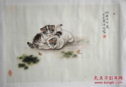 天津美院研究生,内蒙古美术家协会会员段伯文作品,3平尺