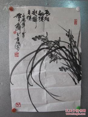 江西名家、江西画院专业画家、潘天寿大师弟子、中国美术家协会会员、钟育淳国画一幅