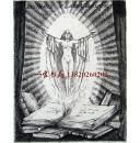 """德国艺术家""""Viktor Fleissig""""蚀刻藏书票——《书中仙女》  1928怀旧作品"""