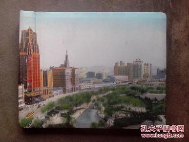 七八十年代8开精布面影集(空册)  如图详述