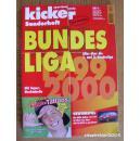 原版KICKER1999-2000德甲德乙特辑