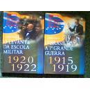 História da República Brasileira-1915/1919 1920/1922