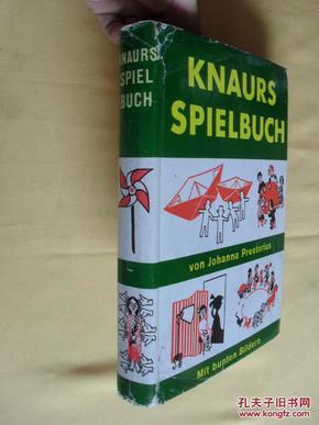 德文原版 精装 1953年版   Knaurs Spielbuch -    Johann Preetorius,