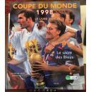1998年法国世界杯足球写真集 法国soalr原版世界杯画册 world cup赛后特刊包邮快递