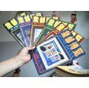 集邮博览 1987年-1993年全年1-6期 全7年42册【架18-4】