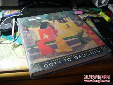 1959年the great centuries of painting  goya to gauguin 从戈雅到高更十九世纪大画家 手工贴图