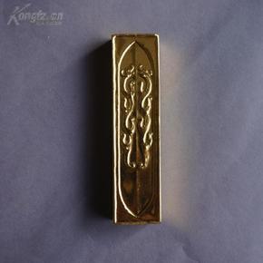 赠送外宾的限量版包金墨,惜如金,桐木盒装,顶级油烟