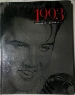 英文原版《1993 COMMEMORATIVE STAMP COLLECTION》彩色精美纪念邮票册,没有邮票。精装16开。