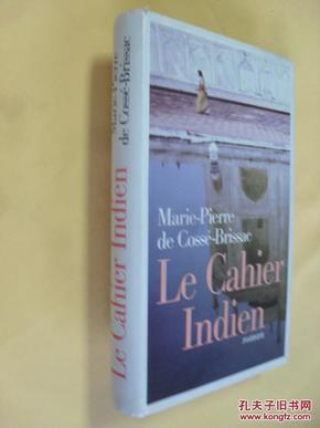 法文原版     Le cahier indien (French) Hardcover