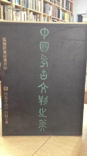 中国考古文物之美:[图册].6.战国鲜虞陵墓奇珍-河北平山中山国王墓