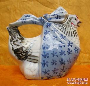 老母雞瓷塑