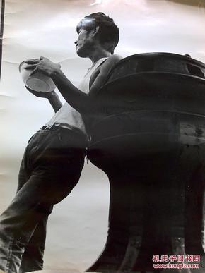 极少见著名的西安铁路局摄影学派侯登科、李胜利、焦斌、白涛、大新等上世纪八九十年代大幅纪实 摄影9张