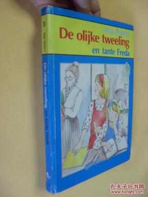荷兰文原版    De olijke tweeling en tante Freda.Arja Peters