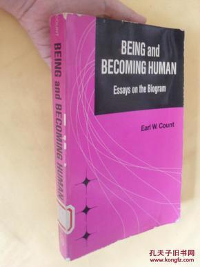 英文原版    Being and Becoming Human