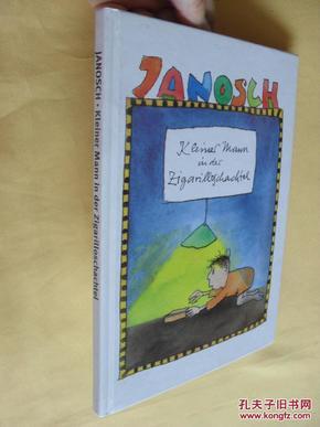 德文原版     JANOSCH.Kleiner Mann in der Zigarilloschachtel und andere Geschichten