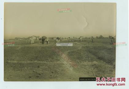 清代河南郑州早期珍贵铁路史料---清代郑州汴洛铁路1903年9月28日驻马店站开工修建等两张