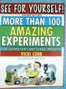 英文原版    See for Yourself!: More Than 100 Amazing Experiments for Science Fairs and School Projects