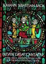 巴赫十一大著名康塔塔Eleven Great Cantatas(Johann Sebastian Bach)英文原版乐谱曲谱琴谱