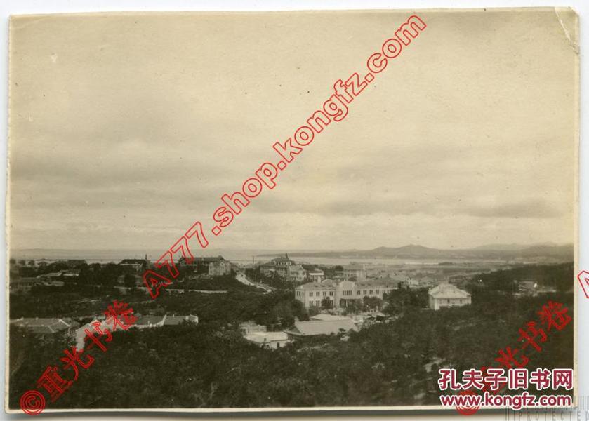 民国 1920年代 青岛  老照片 1帧