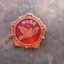 和平鸽纪念章 1953.10.25 抗美援朝纪念章 中国人民赴朝慰问团赠