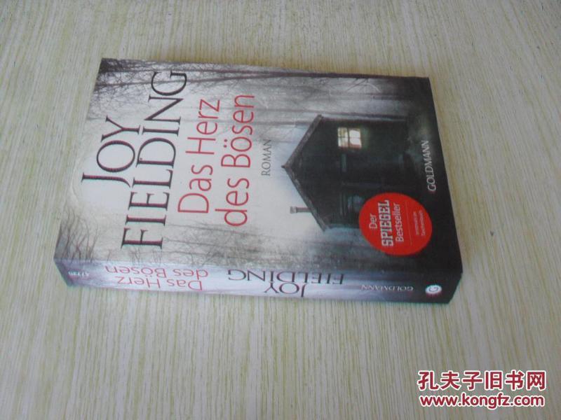 德文原版 心理悬疑小说大师乔伊•菲尔丁《邪恶的心》 Das Herz des Bösen.JOY FIELDING