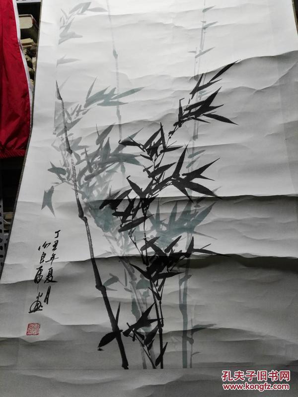 谢良虎画 竹子