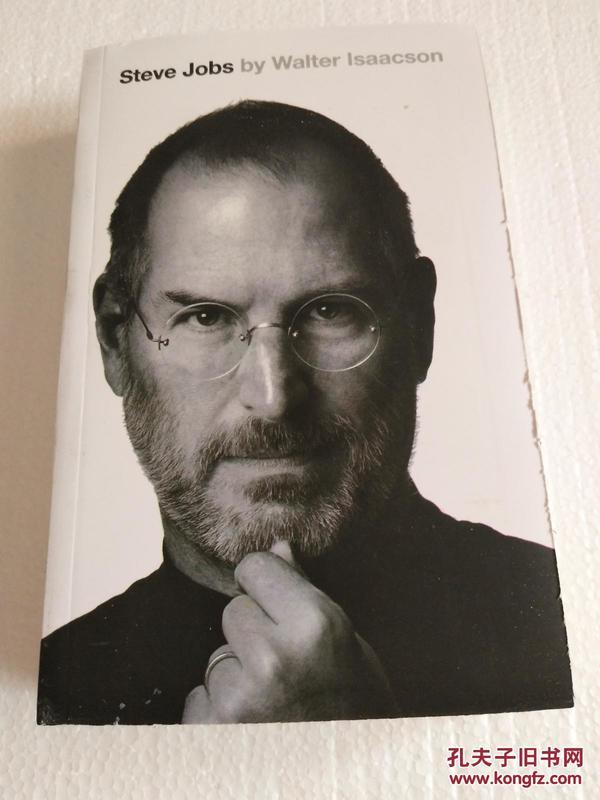 Steve Jobs乔布斯传 英文版(复印本)