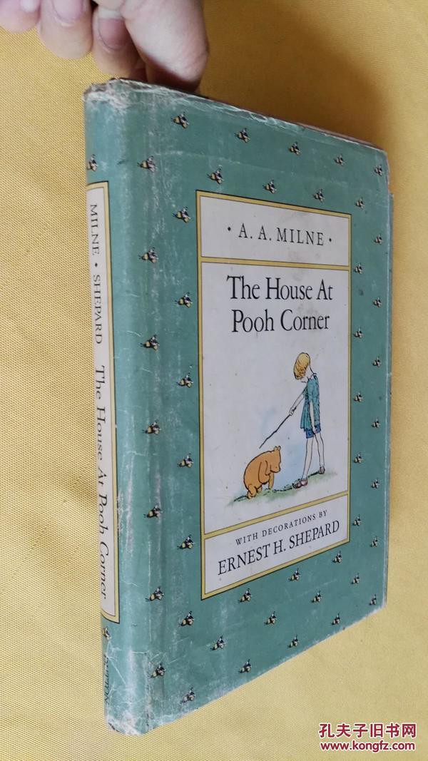英文原版精装  The House at Pooh Corner  (Winnie-the-Pooh) by A. A. Milne and Ernest H. Shepard插图本 维尼熊